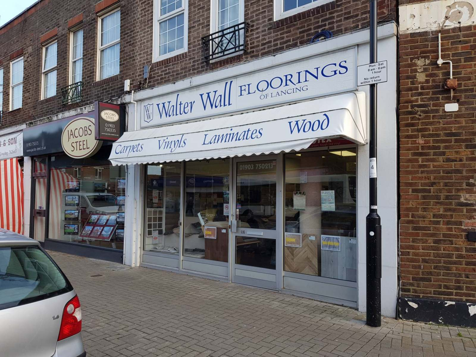 Ground Floor Shop to let Lancing 26 North Road