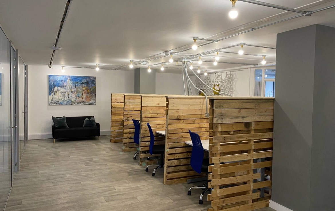Freedom Works Serviced Offices Chichester to rent Marshall Clark